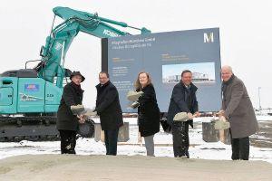Spatenstich für neues MUC-Bürogebäude