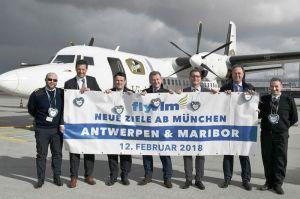 Antwerpen und Maribor jetzt direkt ab München erreichbar