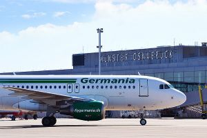 Germania braucht größere Flugzeuge ab FMO