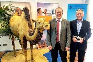 Dubai nonstop ab Nürnberg im Reise-Flugplan