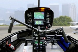 Touchscreen Garmin Displays für Robinson Helicopter