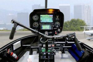 Touchscreen Garmin Displays für Robinson Helicopter