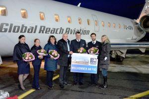 CRJ 200 Charter am PAD stationiert