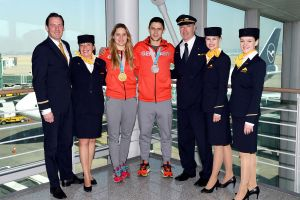 So holte B747-8 D-ABYA Olympiagold nach Deutschland