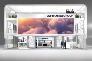 Lufthansa mit Megaauftritt auf der ITB
