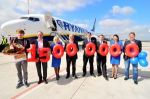 Airport Weeze begrüßt 15-millionsten Passagier