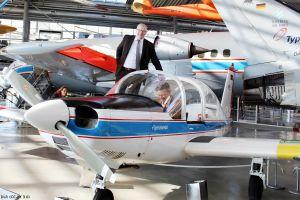 Pionierflugzeug LFU 205 jetzt im Museum Schleißheim
