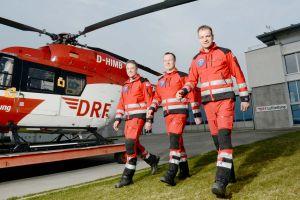 DRF Luftretter seit 25 Jahren am Flugplatz Freiburg