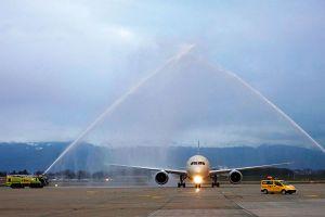 Dreamliner der Etihad Airways jetzt ab Genf