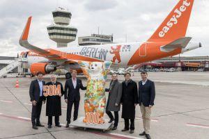 Sonderbemalung auf easyJet Airbus A320