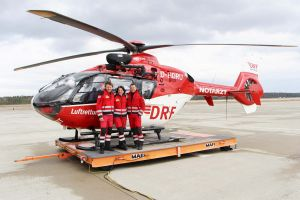 20 Jahre Luftrettung für Nürnberg in rot-weiß