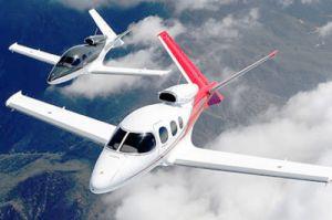 Vision Jet SF50 erhält die Collier Trophäe