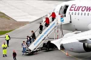 Erstflug der Saison: Heringsdorf erwartet CRJ900