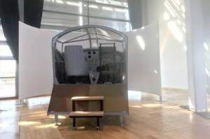 Simulator zum ersten Atlantiküberflug Ost – West
