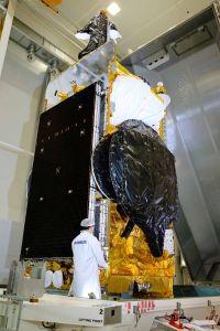 Elektrosatellit SES-12 trifft in Florida ein