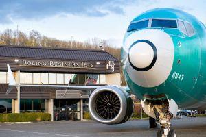 Boeing entlässt ersten 737 MAX Business Jet