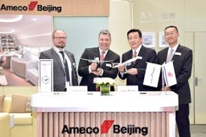 LHT kooperiert mit Ameco für Business-Flieger in China