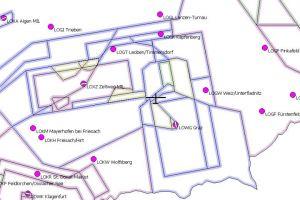 Luftraumdaten Österreich als OpenAir und CUP