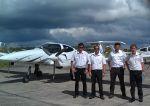 Diamond DA42-VI-Überstellungsflüge nach Malaysia