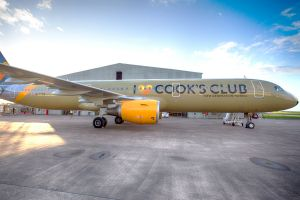 Hotel-Sterne am Himmel: Condor mit besonderem A321