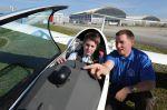 Fliegerei zum Anfassen – Nachwuchs auf der AERO