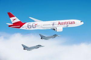 B777 für AUA in Wien gelandet