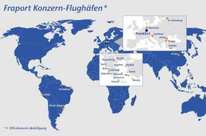 Flughäfen des Fraport: Überall Wachstum