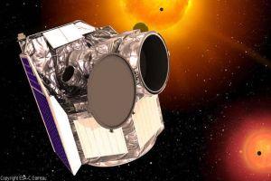 Cheops: Letzter Blick auf Exoplaneten-Detektiv