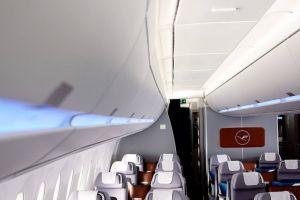 Beleuchtung im Airbus A350 erhält Lichtdesign-Preis