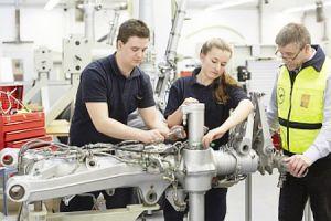 Ausbildung bei Lufthansa Technik: Nachwuchs gesucht