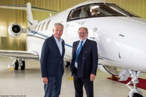 PC-24: Businessjet für Pilot Peter Brabeck-Letmathe