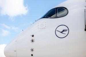 A350 XWB der Lufthansa: Taufe nach Doppel-Low Approach