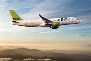 Bombardier CS300 erhält Großauftrag von airBaltic
