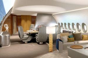 ACJ350: LHT Ausrüstungszentrum für XWB-Businessjet