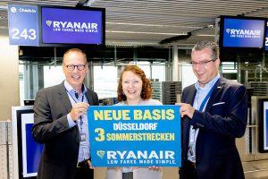 Ryanair-Boeing bringt neue Ziele nach Düsseldorf