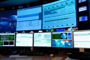 Gerst im All: Volles Programm auch im Kontrollzentrum