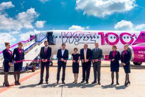 Airbus A321 das 100. Flugzeug für Wizz Air