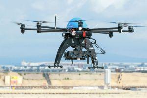 Drohnen auf dem Fraport getestet