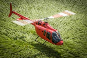 Volle Wartung für Bell 505 bei Ruag in Sion