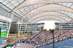 Fußball live im Münchner Airport Center