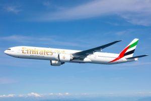 Emirates fliegt mit B777-300ER nach Domodedovo