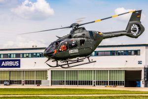 H135 bei Bundeswehr in Bückeburg komplett