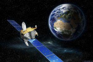 Hispasat 36W-1 kommuniziert 1a seit einem Jahr