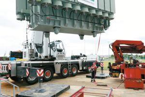 Schwergewicht für Stromversorgung von CargoCity Süd