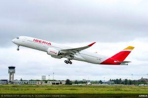 Verbesserter Airbus A350 XWB bei Iberia gelandet