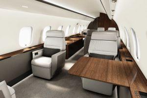 Bombardier Global 5000 mit Premium-Kabine als Charter