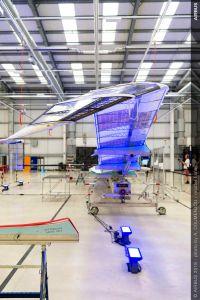 Airbus zeigt Serienmodell Zephyr S