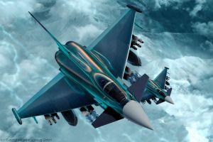 Eurofighter Typhoon mit neuer Technik als Weg ins FCAS