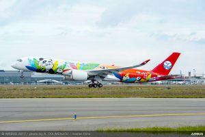 Bunter Airbus A350 XWB für Sichuan Airlines