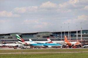 Privat zu Reisen dominiert deutlich am Hamburg Airport